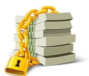 bigstockphoto_vector_money_with_gold_lock_is_3097071